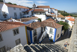 The Traditional Little Village of Obidos in the Leiria District, Portugal, Europe Photographic Print by Alex Treadway