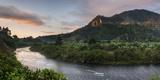 Namorona River at Sunrise, Ranomafana National Park, Madagascar Central Highlands Photographic Print by Matthew Williams-Ellis