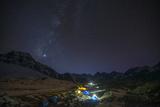 Ama Dablam Base Camp, Himalayas, Nepal, Asia Photographic Print by Alex Treadway