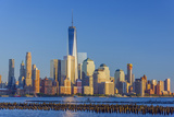New York Skyline, Manhattan, Lower Manhattan and World Trade Center Photographic Print by Alan Copson