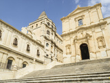 San Francesco Church, Noto, UNESCO World Heritage Site, Sicily, Italy, Europe Photographic Print by Jean Brooks