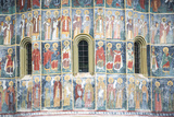 Painted Murals at Sucevita Monastery, a Gothic Church Photographic Print by Matthew Williams-Ellis
