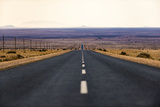 A Long Road in the Karas Region of Southern Namibia, Africa Photographic Print by Alex Treadway