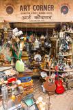Junk Shop, Mutton Street Market, Mumba (Bombay), Maharashtra, India, Asia Photographic Print by James Strachan