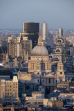 St. Pauls Cathedral and Skyline, London, England, United Kingdom, Europe Photographic Print by Alex Treadway