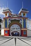 The Colourful Entrance to Luna Park, Saint Kilda, Melbourne, Victoria, Australia. Photographic Print by Cahir Davitt