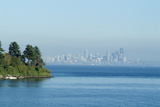 View of Seattle from Bainbridge (Island) Ferry, Washington, Usa Photo by Natalie Tepper
