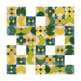 Art Kitchen - Graphic Blocks 1 *Exclusive* Obrazy