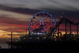 Sunset, Santa Monica Beach Photo by Natalie Tepper