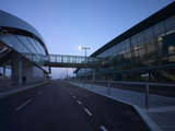 Elevated Walkway of Dublin Airport, Terminal 2, Republic of Ireland Photo by Ian Bruce