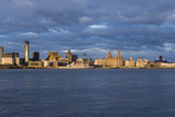 View to City of Liverpool from River Mersey, Liverpool, Merseyside, England, UK Photo by Paul McMullin