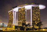 South East Asia, Singapore, South East Asia, Singapore, Marina Bay Sands Photographic Print by Christian Kober