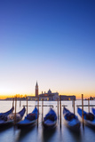 Europe, Italy, Veneto, Venice, San Giorgio Maggiore Church across Basino Di San , Sunrise Photographic Print by Christian Kober
