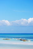 South East Asia, Philippines, the Visayas, Cebu, Bantayan Island, Paradise Beach Photographic Print by Christian Kober