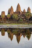Cambodia, Angkor Wat, Siem Reap Province. the Magnificent Khmer Temple of Angkor Wat Photographic Print by Nigel Pavitt