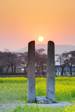 Asia, Republic of Korea, South Korea, Gyeongsangbuk-Do, Gyeongju Photographic Print by Christian Kober