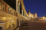 The Plaza De Espana Is a Plaza Located in the Maria Luisa Park, in Seville, Spain Photographic Print by David Bank