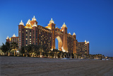 The Beach and the Atlantis 5 Star Resort Complex Designed by the Architects Watg, Dubai Photographic Print by Cahir Davitt