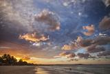 Noosa Beach and the Tasman Sea at Sunset, Noosa Heads, Queensland, Australia. Photographic Print by Cahir Davitt