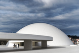 Niemeyer Center Building, in Aviles, Spain Photographic Print by Carlos Sanchez Pereyra
