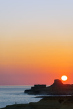 Mediterranean Europe, Malta, Gozo Island, Sunrise over Xwejni Bay Photographic Print by Christian Kober
