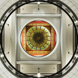 Dome of the Romanesque Revival Styled Queen Victoria Building, Sydney, New South Wales, Australia. Photographic Print by Cahir Davitt