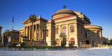 Italy, Sicily, Palermo. Teatro Massimo. Photographic Print by Ken Scicluna