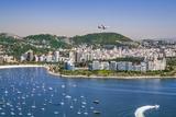 Brazil,Rio De Janeiro. Rio De Janeiro City Viewed from Sugar Loaf Mountain Impressão fotográfica por Nigel Pavitt