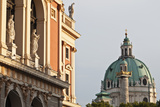 Wiener Musikverein (1866-9) and Karlskirche, Vienna, Austria Photo by Julian Castle