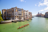 Italy, Veneto, Venice. During the Vongalonga Rowing Boat Festival on the Gran Canal. Photographic Print by Ken Scicluna