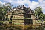 Cambodia, Angkor Thom, Siem Reap Province. the Ruins of the Phimeanakas Hindu Temple Photographic Print by Nigel Pavitt