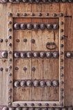 Ornate Door Detail of Jabrin Fort, Jabrin, Nizwa, Ad Dakhiliyah Governorate, Oman. Photographic Print by Cahir Davitt