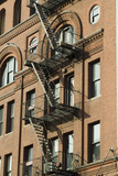 Fire Escapes, Tribeca, New York City, Ny, Usa Photo by Natalie Tepper