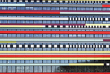 Abstracted Detail of Office Building, De Uithof District, Utrecht University, Netherlands Photo by Julian Castle
