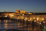 The Roman Bridge of Cordoba Is a Bridge in Cordoba, Andalusia, Southern Spain Photographic Print by David Bank