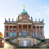Germany, Potsdam, Berlin Brandenburg, Sanssouci. the Communs at the Sanssouci Royal Park. Photographic Print by Ken Scicluna