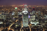 The City of London Seen from the Viewing Gallery of the Shard. Photographic Print by David Bank