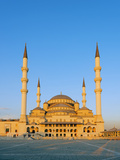 Turkey, Central Anatolia, Ankara, Kocatepe Camii Mosque Photographic Print by Christian Kober