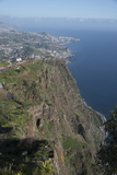 Down to Funchal from Platform at Cabo Girao Second Highest Cliff in World at 589 Metres Portugal Photo by Natalie Tepper