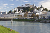 The River Salzach and the Baroque City of Salzburg, Austria Photo by Julian Castle
