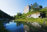 Europe, Poland, Malopolska, Ojcow National Park, Pieskowa Skala Castle Photographic Print by Christian Kober