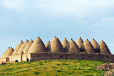 Turkey, Eastern Anatolia, Village of Harran, Beehive Mud Brick Houses Photographic Print by Christian Kober