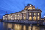 The Bode Museum on the Museum's Island in the Centre of Berlin. the River Spree in the Foreground. Photographic Print by David Bank