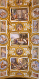 Italy, Campania, Naples. a Painted Church Ceiling. Photographic Print by Ken Scicluna