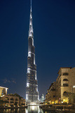 The Burj Khalifa (Armani Hotel) by Skidmore Owings, Merrill and Souk Al Bahar, Business Bay Photographic Print by Cahir Davitt