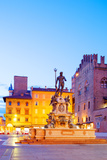 Italy, Emilia Romagana, Bologna. Piazza Maggiore with the Neptune Statue and Fountain. Photographic Print by Ken Scicluna