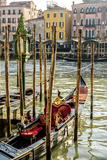 Gondola on a Canal in Venice, Italy Photographic Print by Carlos Sanchez Pereyra