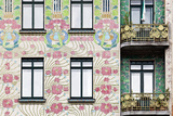 Facade of Jugendstil Style Majolikahaus (Majolica) House at No Photo by Julian Castle