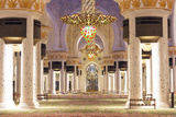 Middle East, United Arab Emirates, Abu Dhabi, Sheikh Zayed Grand Mosque Photographic Print by Christian Kober