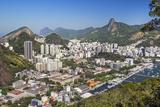 Brazil, Rio De Janeiro. Rio De Janeiro City Viewed from Sugar Loaf Mountain Impressão fotográfica por Nigel Pavitt
